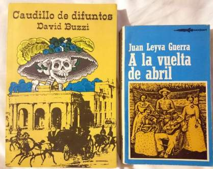 Caudillo de difuntos, primera edición, abril 1975. A la vuelta de abril, edición 1982